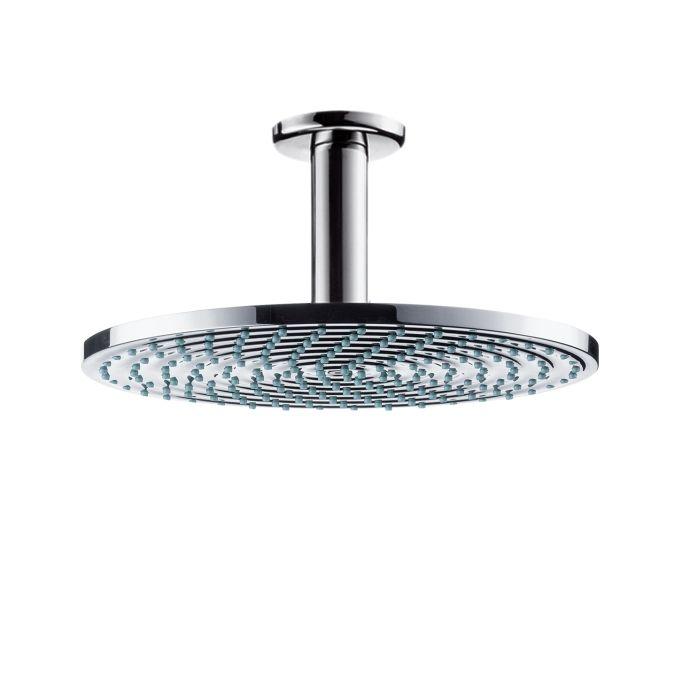 HansGrohe Raindance S 240 AIR tányér fejzuhany EcoSmart / DN15 100 mm-es mennyezeti csatlakozóval / króm / 27463000 / 27463 000