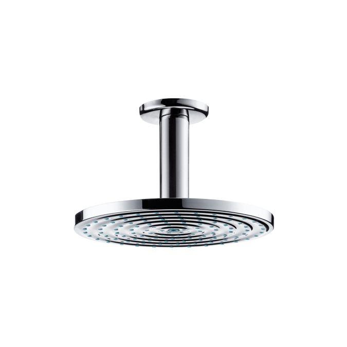 HansGrohe Raindance S 180 AIR tányér fejzuhany EcoSmart / DN15 100 mm-es mennyezeti csatlakozóval / króm / 27464000 / 27464 000