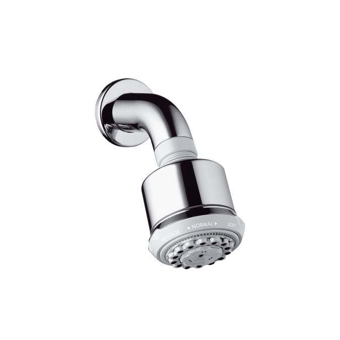 HansGrohe Clubmaster fejzuhany zuhanykarral DN15 / króm / 27475000 / 27475 000