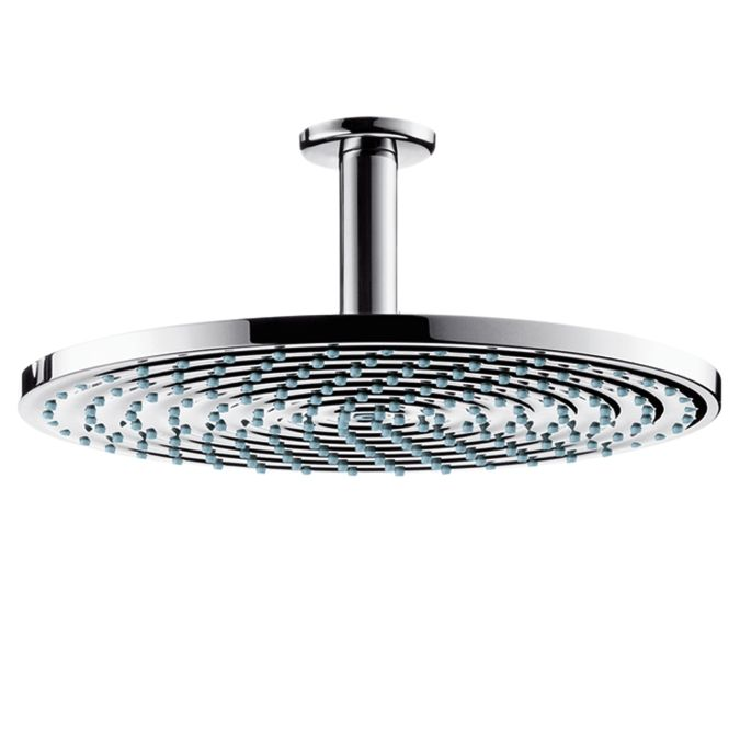 HansGrohe Raindance S 300 AIR tányér fejzuhany DN15 / 100 mm-es mennyezeti csatlakozóval / króm / 27494000 / 27494 000