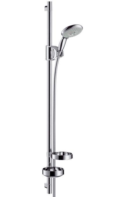 HansGrohe Raindance E 100 AIR 3jet/Unica'D zuhanyszett 0,90 m DN15 / króm / 27881000 / 27881 000