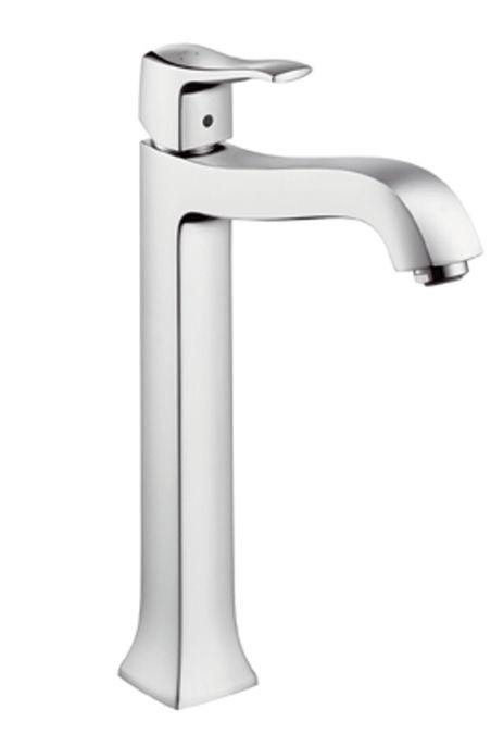HansGrohe Metris Classic Egykaros, magasított mosdócsaptelep DN15 / pulton álló mosdótálakhoz / króm / 31078000 / 31078 000