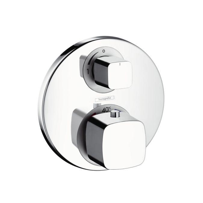 HansGrohe Metris termosztátos csaptelep színkészlet / elzárószeleppel / króm / 31572000 / 31572 000