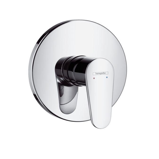 HansGrohe Talis E2 Egykaros, falsík alatti zuhanycsaptelep színkészlet / króm / 31666000 / 31666 000