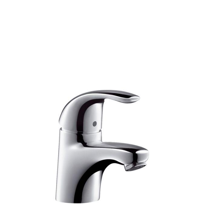 HansGrohe Focus E Egykaros mosdó csaptelep DN15 / króm / 31700000 / 31700 000, fém leeresztő szeleppel