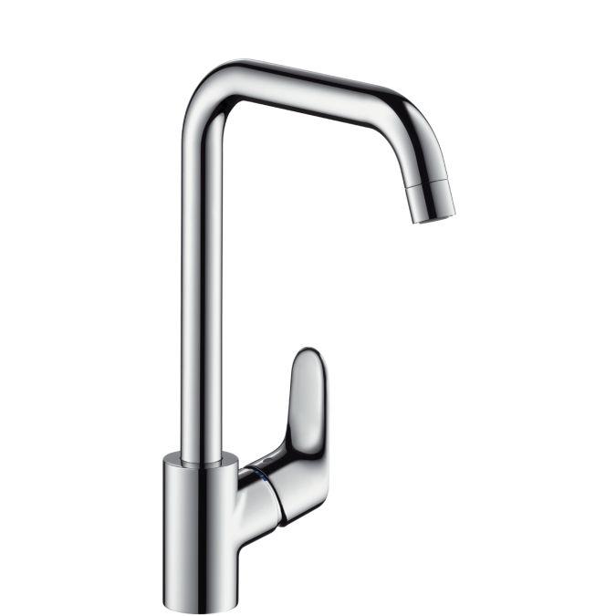 HansGrohe Focus konyhai csaptelep / elfordítható kifolyóval / átfolyós vízmelegítőkhöz / króm / 31822000 / 31822 000