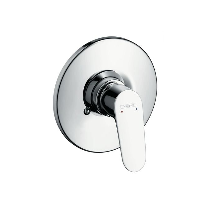 HansGrohe Focus E2 Egykaros, falsík alatti zuhanycsaptelep színkészlet / króm / 31967000 / 31967 000