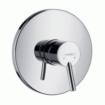 HansGrohe Talis S Egykaros, falsík alatti zuhanycsaptelep színkészlet, króm  / 32675000 / 32675 000
