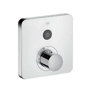 HansGrohe Axor ShowerSelect Soft Cube falsíkon kívüli 1+1 fogyasztóhoz / 36706000 / 36706 000
