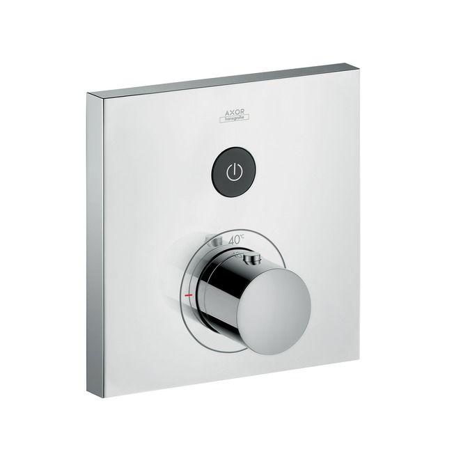 HansGrohe Axor ShowerSelect Squarefalsík alatti termosztátos csaptelep 1 fogyasztóhoz / 36714000 / 36714 000