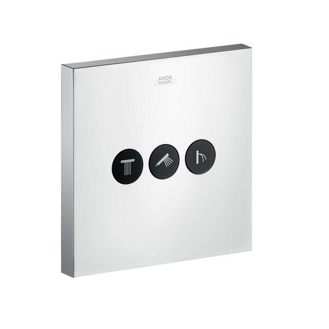 HansGrohe Axor ShowerSelect Square falsík alatti szelep, 3 fogyasztóhoz / 36717000 / 36717 000