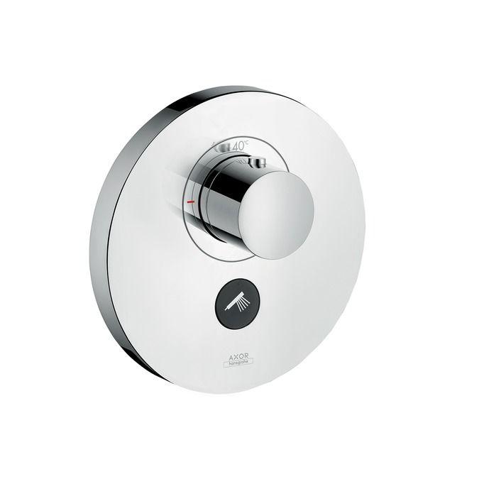 HansGrohe Axor ShowerSelect Round falsíkon kívüli 1+1 fogyasztóhoz / 36726000 / 36726 000