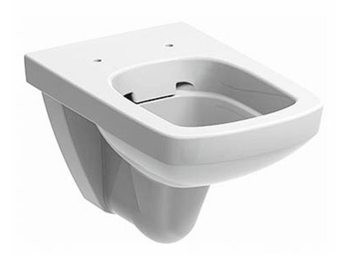 KERAMAG KOLO NOVA PRO fali szögletes wc csésze, Rimfree®, öblítőperem / perem nélküli, újdonság M33123