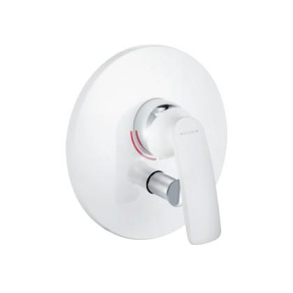 KLUDI BALANCE falsík alatti egykaros kád/zuhanycsap, automatikus kád/zuhany váltó fehér/króm 526509175 / 5265091-75 / 52650-91-75