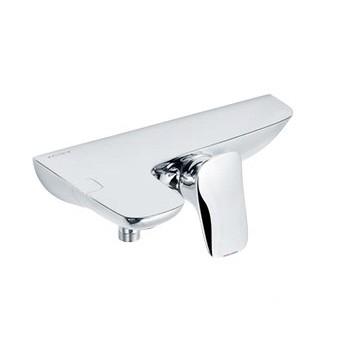 KLUDI AMBA egykaros kádtöltő- és zuhanycsap, falra szerelhető kivitel, rejtett, excentrikus falicsatlakozók 534450575 / 5344505-75 / 53445-05-75