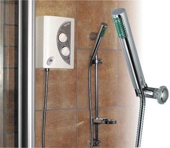 RADECO / KOSPEL EPA PU OPUS-mosdó, zuhany 8,4 kW-os átfolyós rendszerű elektromos vízmelegítő