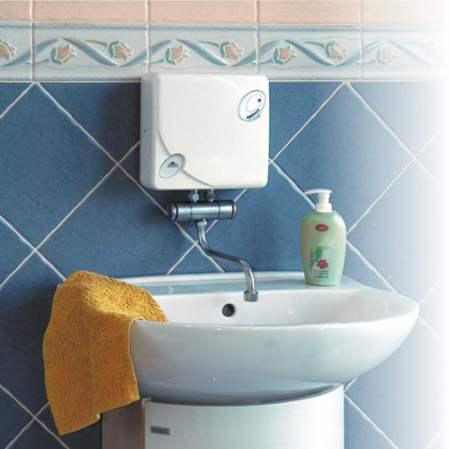 RADECO / KOSPEL EPJ OPTIMUS mosdó 5,5 kW-os átfolyós rendszerű elektromos vízmelegítő csapteleppel