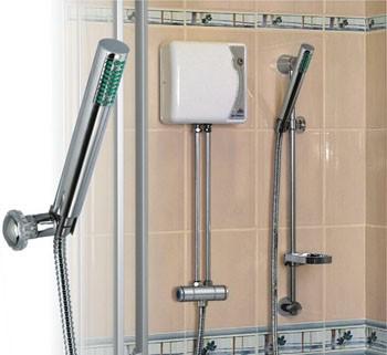 Átfolyós elektromos vízmelegítő zuhanyzáshoz