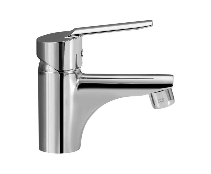 MOFÉM MAMBO-5 egykaros mosdó csaptelep fém leeresztő szeleppel / 150-0034-00 / 150003400 / 7,5-9l /perc vízátbocsátású vízkőmentes perlátorral