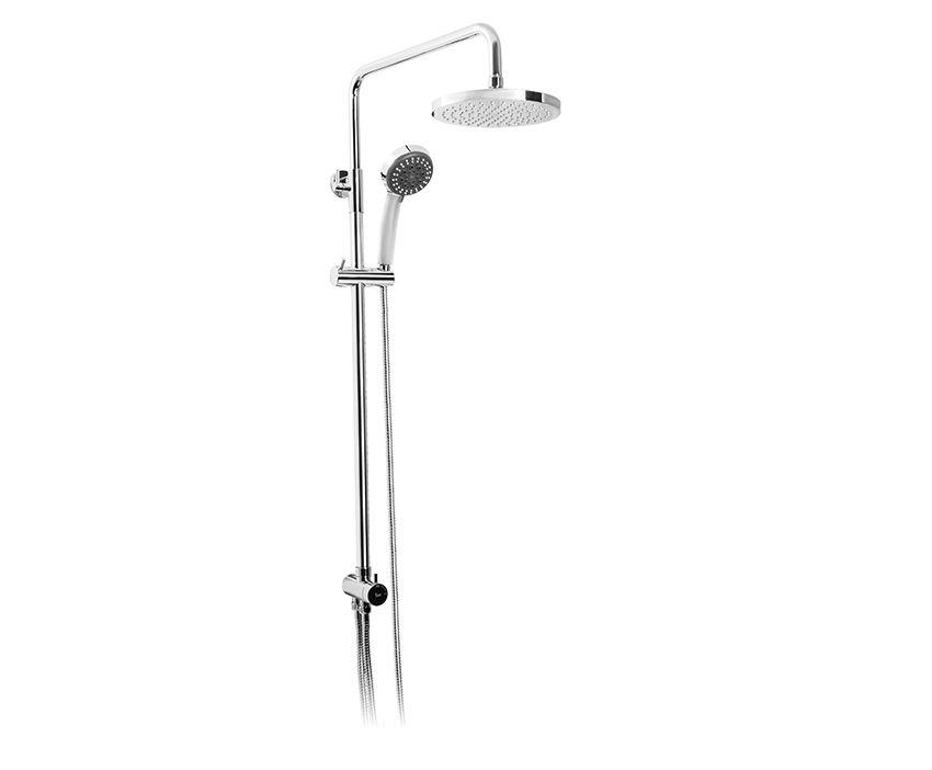 MOFÉM JUNIOR EVO zuhanyrendszer, univerzális 275-0059-07 / 275005907, állítható tartóval, Ice-L zuhanyfejjel