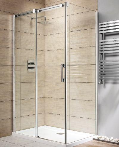 RADAWAY Espera S 80 B szögletes zuhanykabin oldalfal / fal 800x2000 mm bal / balos / 01 átlátszó üveg / 380148-01L