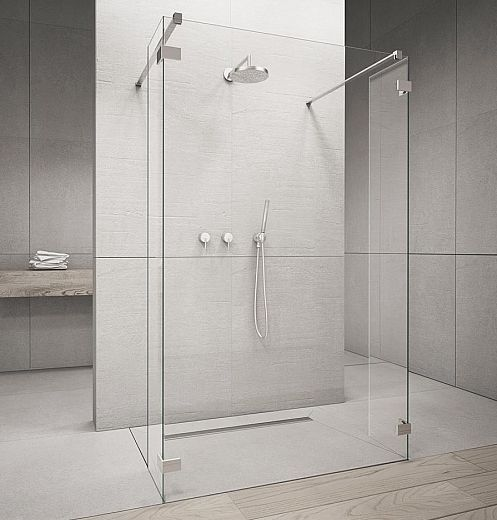 RADAWAY SW 30 zuhanykabin OLDALFAL 300x2000 mm / 01 átlátszó üveg / 383160-01-01
