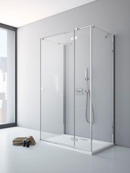 RADAWAY Fuenta New S1 90 zuhanykabin OLDALFAL 900x2000 mm / 01 átlátszó üveg / 384050-01-01