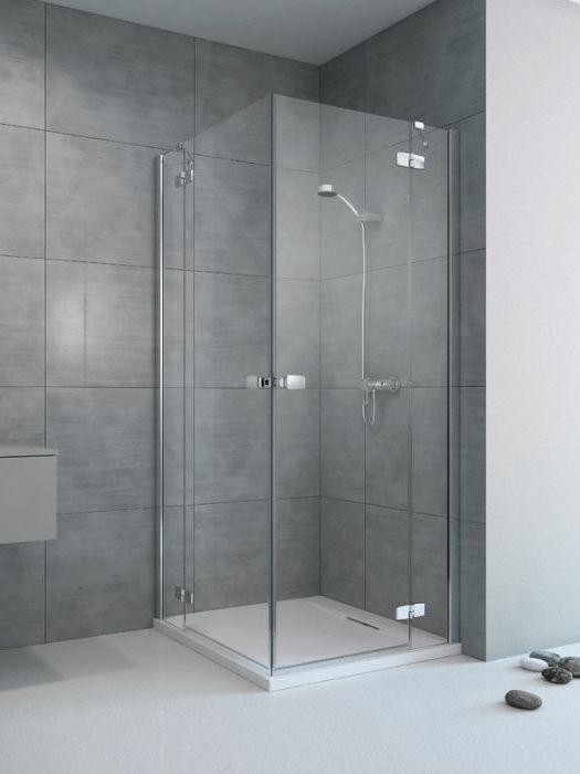 RADAWAY Fuenta New KDD 80 J jobb / jobbos szögletes zuhanykabin AJTÓ 800x2000 mm / 01 átlátszó üveg / 384061-01-01R