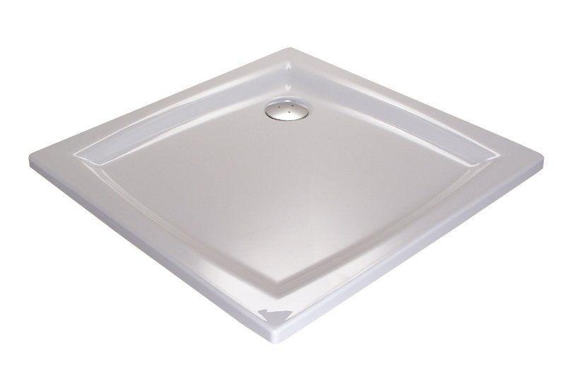 RAVAK GALAXY Perseus 80 LA négyzet alakú / szögletes, 80 x 80 cm-es akril zuhanytálca, antibakteriális felület / fehér / A024401210