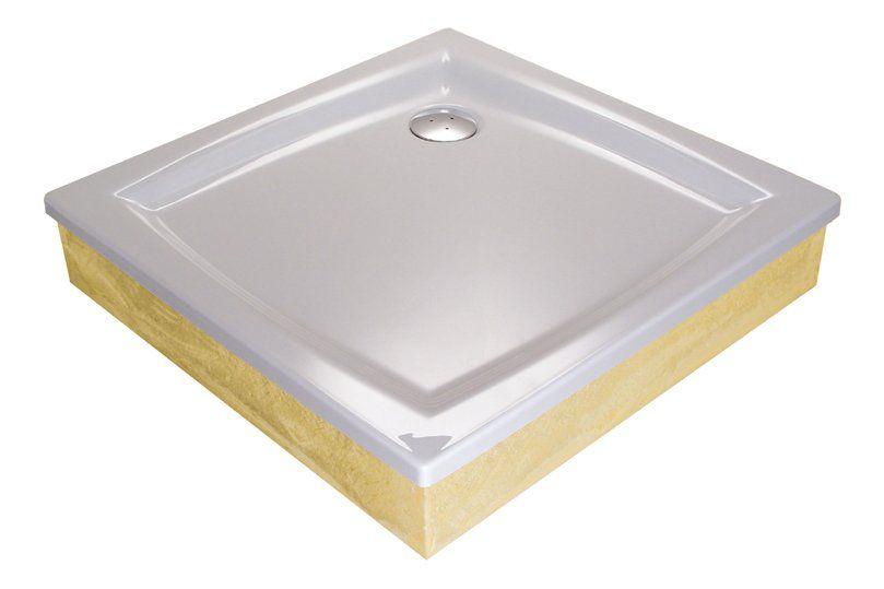 RAVAK GALAXY Perseus 90 EX négyzet alakú / szögletes, 90 x 90 cm-es akril zuhanytálca, antibakteriális felület / fehér / A027701310