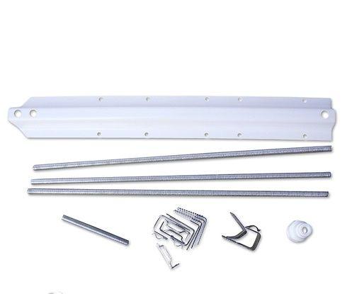 RAVAK Univerzális panelkit (szerelőkészlet) Rosa akrilkádakhoz / előlap felszereléséhez / B23000100N