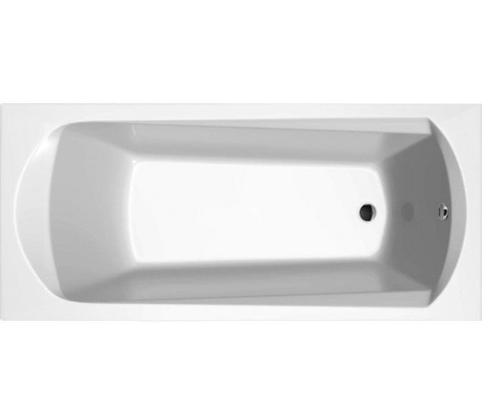 RAVAK Domino akril kád, 160 x 70 cm, snowwhite / hófehér, C621000000