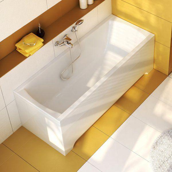 RAVAK CLASSIC akrilkád / kád,  120 x 70 cm-es, szögletes, fehér / C861000000