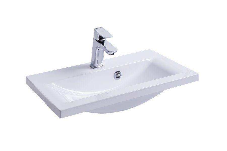 RAVAK Swing 600 mosdó / nyílással / furattal / 600 x 350 mm-es / 60 x 35 cm-es, fehér, cikkszám: SXJS0000003