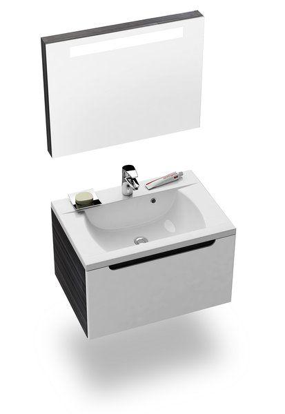 RAVAK Classic 600 tükör a mosdó fölé (nyír) / X000000307