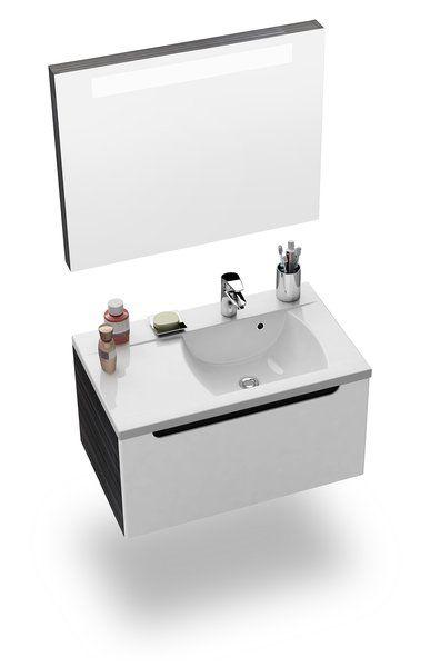 RAVAK Classic 800 tükör a mosdó fölé (nyír) / Cikkszám: X000000309