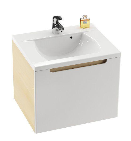 RAVAK SD 700 Classic szekrény a mosdó alá (fehér/fehér) / Cikkszám: X000000349