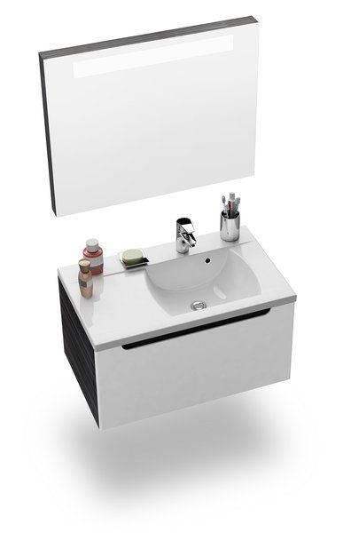 RAVAK Classic 800 tükör a mosdó fölé (fehér) / Cikkszám: X000000354