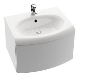 RAVAK SD Evolution szekrény mosdó alá krómozott törölközőtartóval, 70x55x40 cm / Cikkszám: X000000364