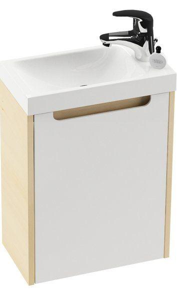 RAVAK Classic SD 400 mini szekrény, Mini mosdóhoz (nyír) / Cikkszám: X000000417
