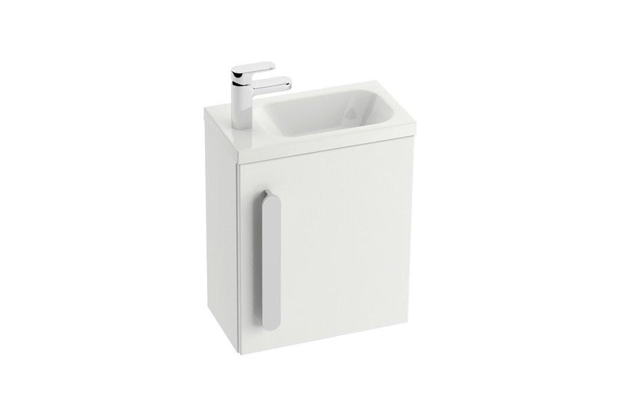 RAVAK SD 400 Chrome szekrény kézmosó alá (fehér) / Cikkszám: X000000538