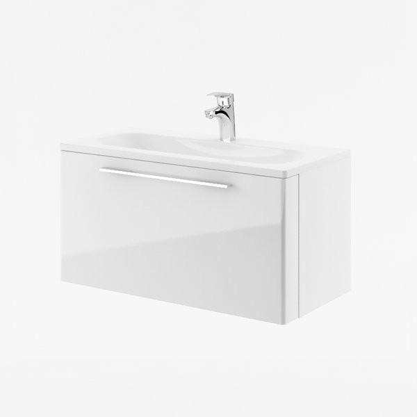 RAVAK, Fürdőszobai szekrény mosdó alá SD 10 Ring szürke/ X000000768