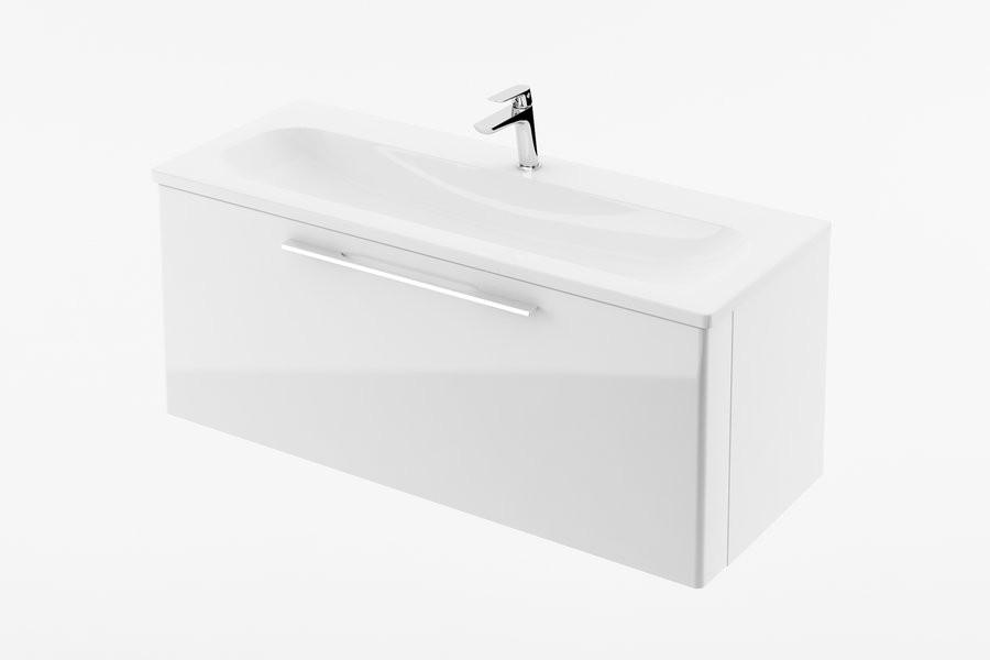 RAVAK, Fürdőszobai szekrény mosdó alá SD 1000 Ring fehér/ X000000769