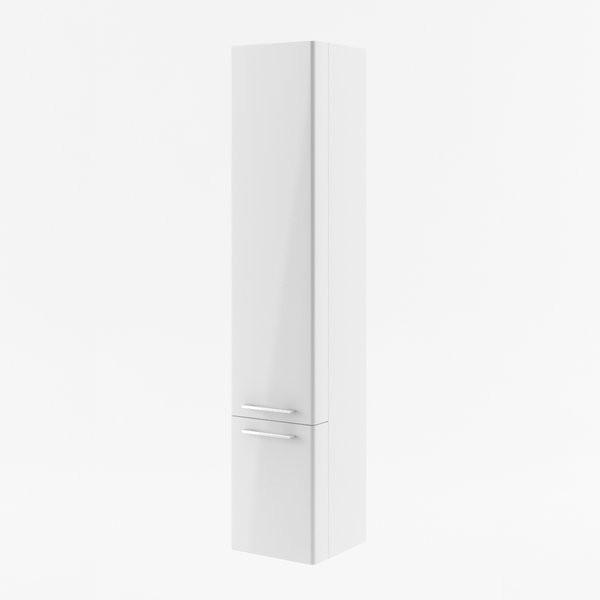 RAVAK, Fürdőszobai faliszekrény SB -300 L Ring szürke/ X000000772