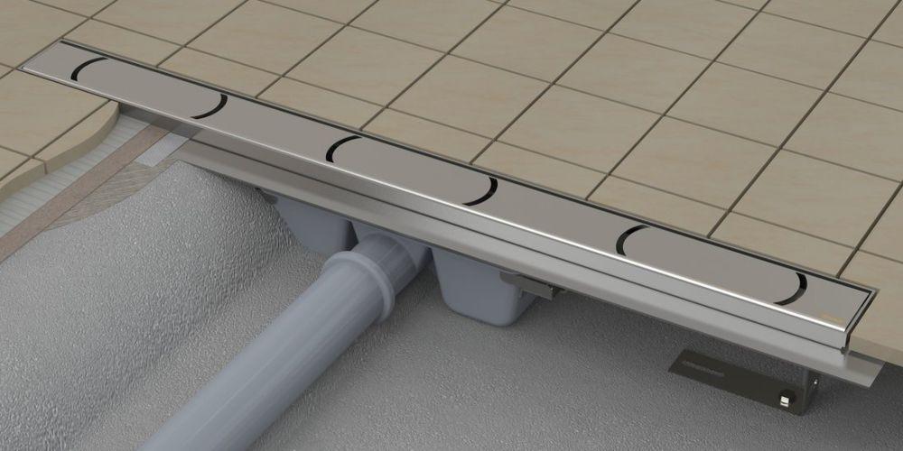 RAVAK Chrome 300 zuhanyfolyóka / rozsdamentes acél / X01426