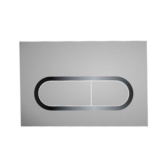 RAVAK Chrome WC nyomólap - szatén, falba építhető / beépíthető wc tartályhoz, cikkszám: X01454