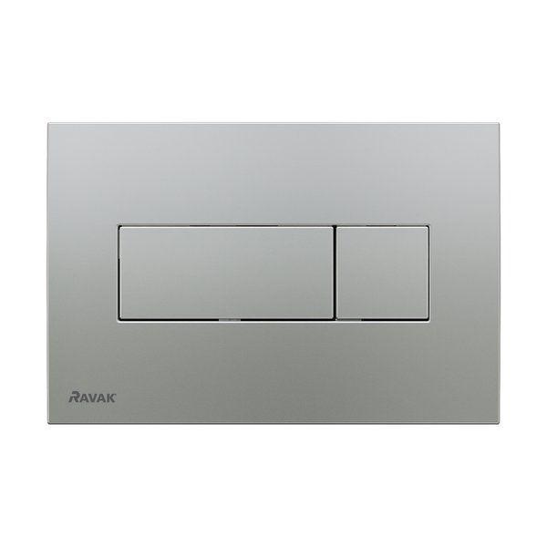 RAVAK Universal WC nyomólap - szatén, falba építhető / beépíthető wc tartályhoz, cikkszám: X01456