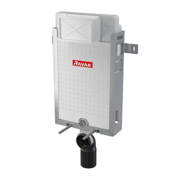 RAVAK 'W' falra szerelhető / beépíthető / befalazható WC tartály, cikkszám: X01458