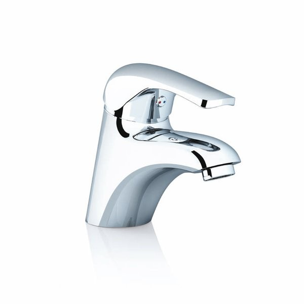 RAVAK Rosa álló mosdócsaptelep / mosdó csaptelep leeresztő szelep nélkül RS 012.00, cikkszám: X070022