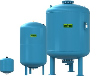 REFLEX Refix DC 25 l-es ivóvíz / ivóvizes tágulási tartály, 10 bar / 7304000